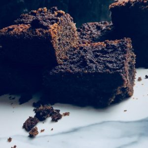 incredibly soft and delicious carob brownies
