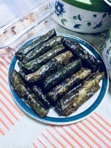 "grape leaves ""dolma"""