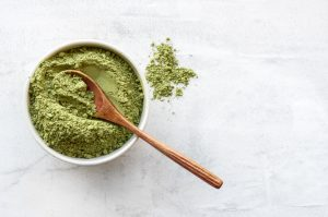 green spirulina and hemp mix
